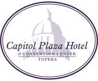 Logo for Capitol Plaza Hotel Topeka