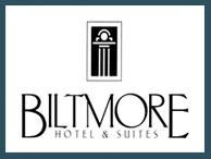 Logo for Biltmore Hotel and Suites