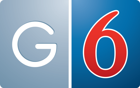 Logo for G6 Hospitality LLC