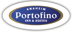 Logo for Anaheim Portofino Inn & Suites