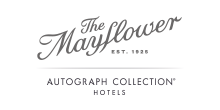 Logo for The Mayflower Hotel, Autograph Collection