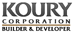 Logo for Koury Corporation