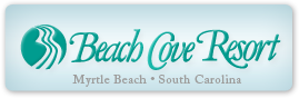 Logo for Beach Cove Resort