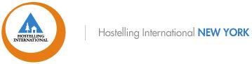 Logo for Hostelling International USA - New York