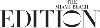 Logo for The Miami Beach Edition Hotel
