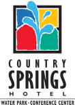 Logo for Country Springs Hotel, Water Park & Conference Center