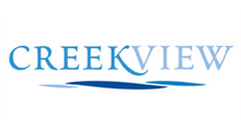 Logo for CreekView