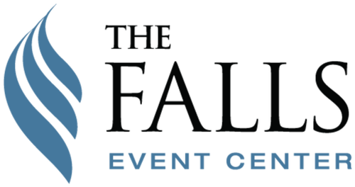 Logo for The Falls Event Center, Salt Lake City at Trolley Square