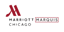 Logo for Marriott Marquis Chicago - Opening 2017