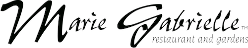 Logo for Marie Gabrielle Restaurant and Gardens
