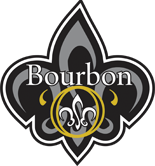 "Logo for Bourbon ""O"" Bar"