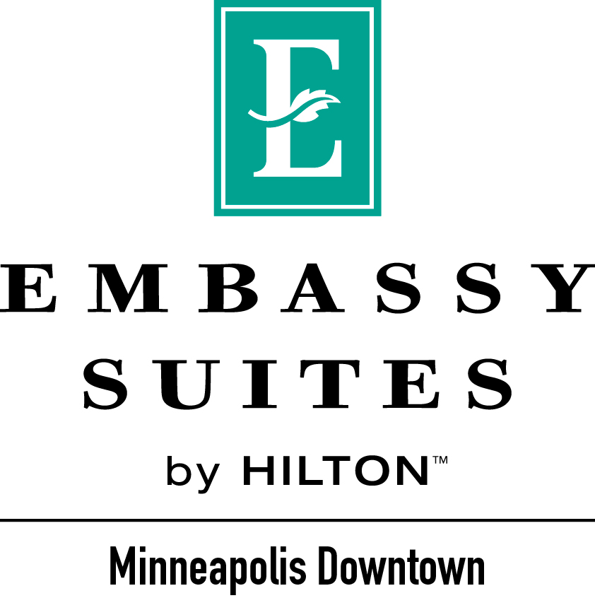 Logo for Embassy Suites by Hilton Minneapolis Downtown