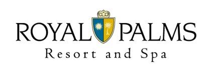 Logo for Royal Palms Resort and Spa