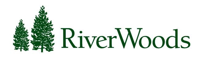 Logo for RiverWoods