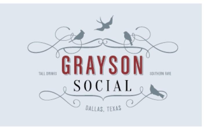 Logo for Grayson Social