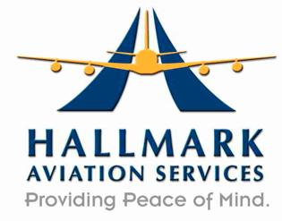 Logo for Hallmark Aviation Services