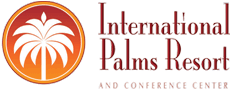 Logo for International Palms Resort & Conference Center Cocoa Beach