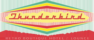 Logo for Thunderbird Hotel & Lounge