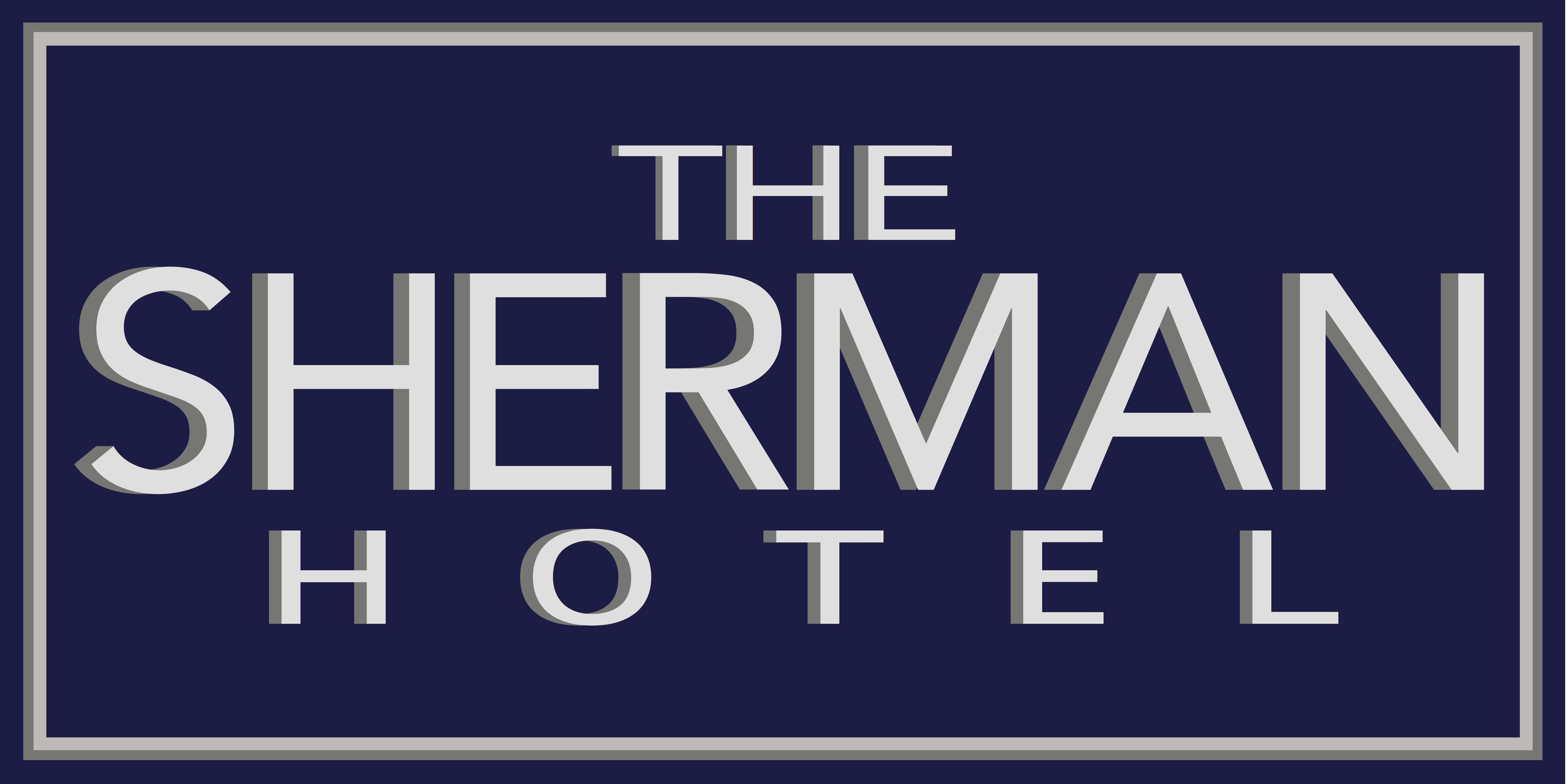 Logo For The Sherman Hotel