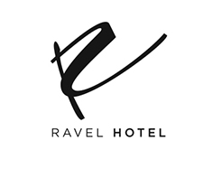 Logo for Ravel Hotel