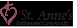 Logo for St. Anne's Retirement Community