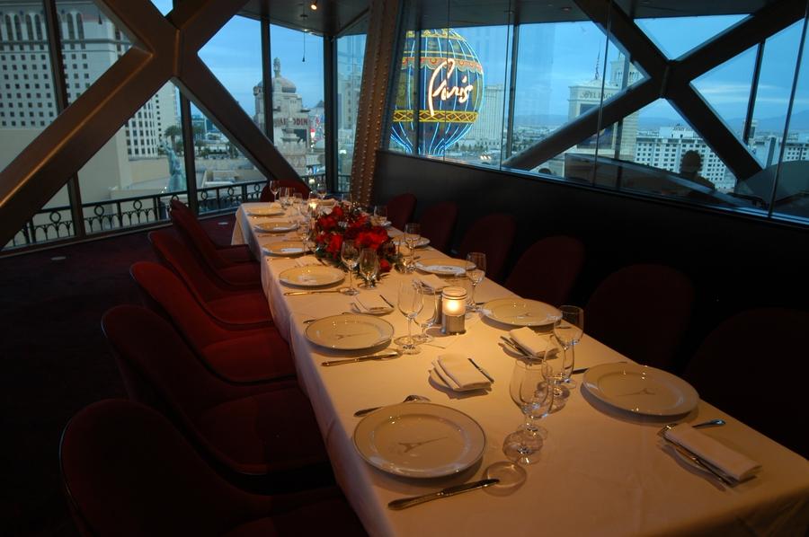 Eiffel Tower Restaurant Las Vegas Dinner Menu