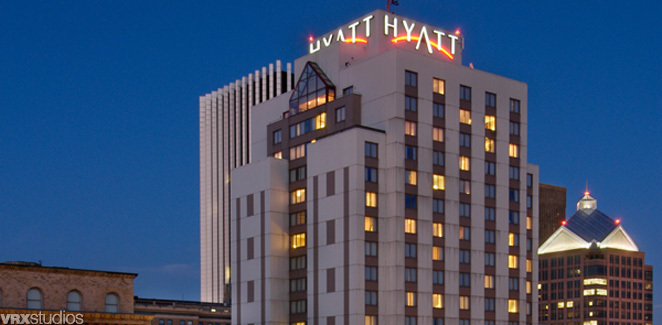Hyatt Regency Rochester is pleased to offer guests the convenience of covered self and valet parking, with in and out privileges. Valet Parking Valet parking is .