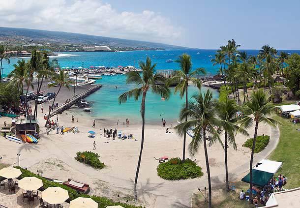 Courtyard King Kamehameha's Kona Beach Hotel, Kailua-Kona ...