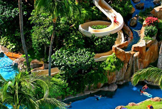 Westin Maui Resort And Spa Water Slide