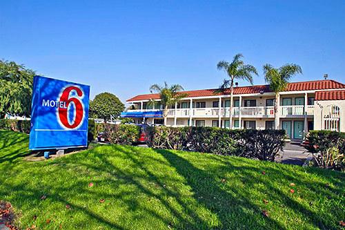 Motel  South Garey Avenue Pomona Ca