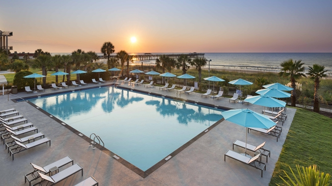 Doubletree resort by hilton myrtle beach oceanfront Oceanfront hotels in garden city sc