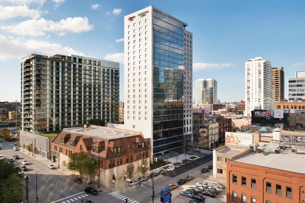 Hampton inn homewood suites chicago downtown west loop for The hotel chicago downtown