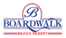 Logo for The Boardwalk Beach Resort
