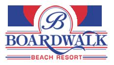 Logo for The Boardwalk Beach Resort