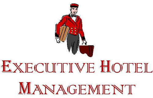 Logo for Executive Hotel Management