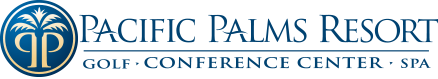 Logo for Pacific Palms Resort