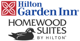 Logo for Homewood Suites by Hilton Baltimore & Hilton Garden Inn Baltimore