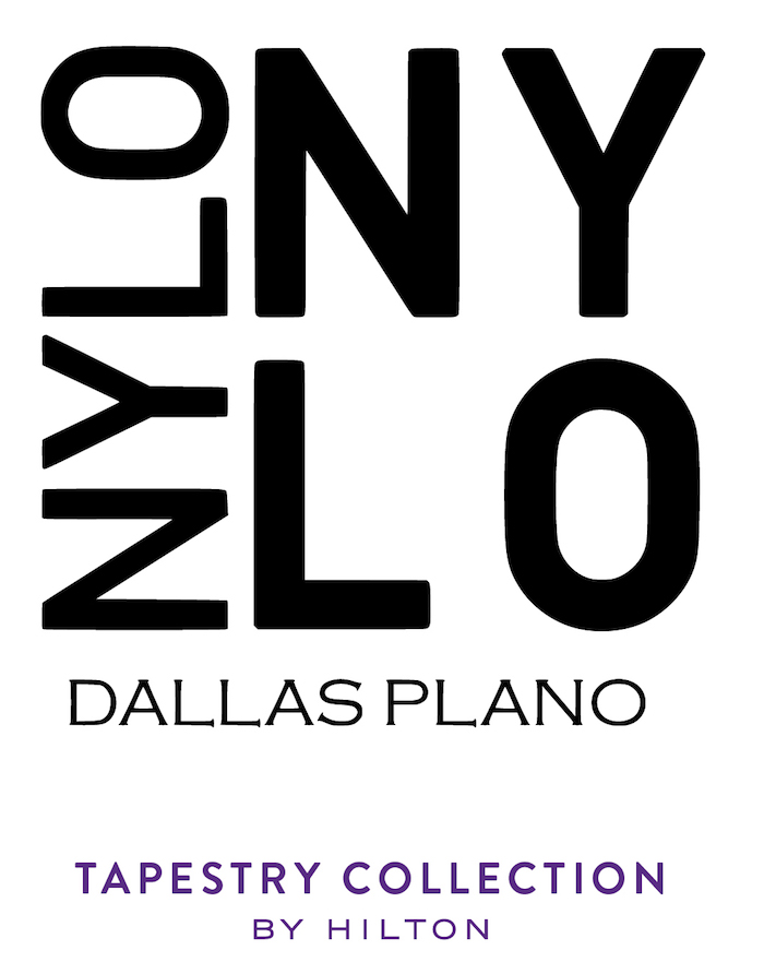Logo for NYLO Dallas Plano Hotel, Tapestry Collection by Hilton