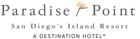 Logo for Paradise Point Resort & Spa