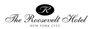 Logo for The Roosevelt Hotel New York City