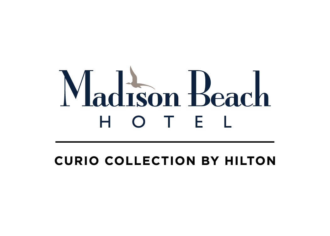 Logo for Madison Beach Hotel, Curio Collection by  Hilton