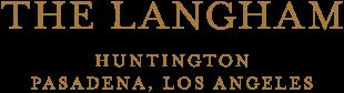 Logo for The Langham Huntington Pasadena