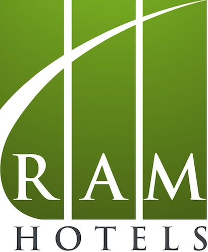 Logo for RAM Hotels