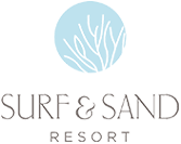 Logo for Surf & Sand Resort