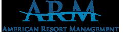 Logo for American Resort Management, LLC / ARM Hospitality, LLC