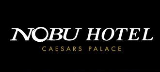 Logo for Nobu Hotel at Caesars Palace
