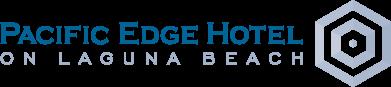 Logo for Pacific Edge Hotel on Laguna Beach