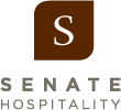 Logo for Senate Hospitality Group