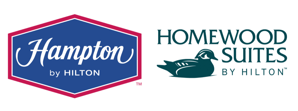 Logo for Hampton Inn & Suites and Homewood Suites Denver Downtown-Convention Center