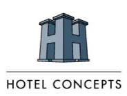 Logo for Hotel Concepts / BMI Hospitality Management